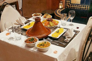 Traditionnal Moroccan Dinner in Riad Jonan Marrakesh