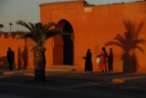 A street of Marrakech